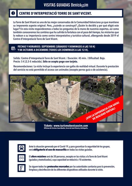 Visita guiada al Centre d'Interpretació Torre de Sant Vicent