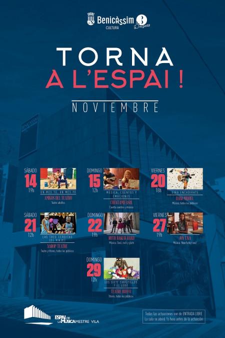 Música / Teatro: TORNA A L'ESPAI!