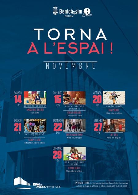 TORNA A L'ESPAI!