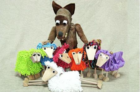 """TEATRE BUFFO """"Les set cabretes i el llop"""""""