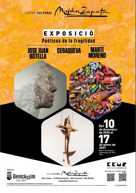 EXPOSICIÓN POÉTICAS DE LA FRAGILIDAD