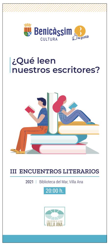 ¿Qué leen nuestros escritores? III encuentros literarios