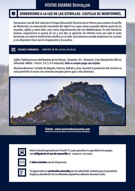 Programa oficial de visitas guiadas: el Castillo de Montornés