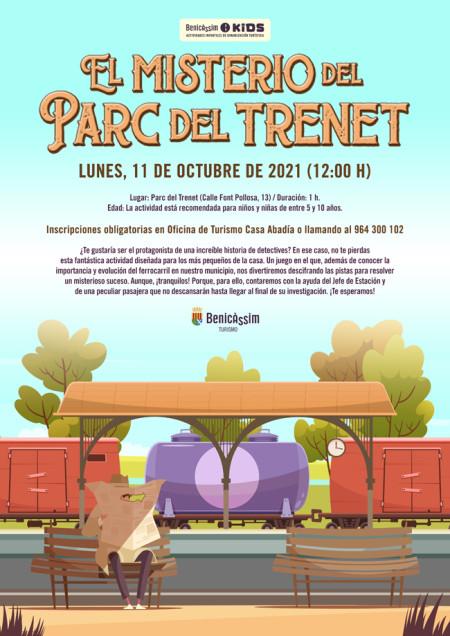Actividad infantil: El misterio del Parc del Trenet