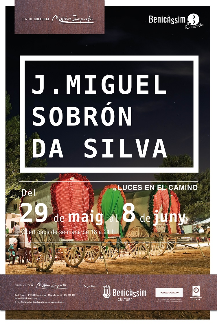 """Miguel Sobrón Da Silva expone """"Luces en el Camino"""" en el Melchor Zapata"""