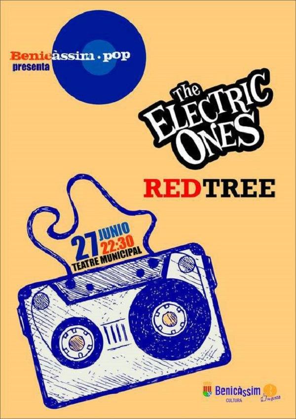 Benicàssim Pop presenta a Red Three y The Electric Ones