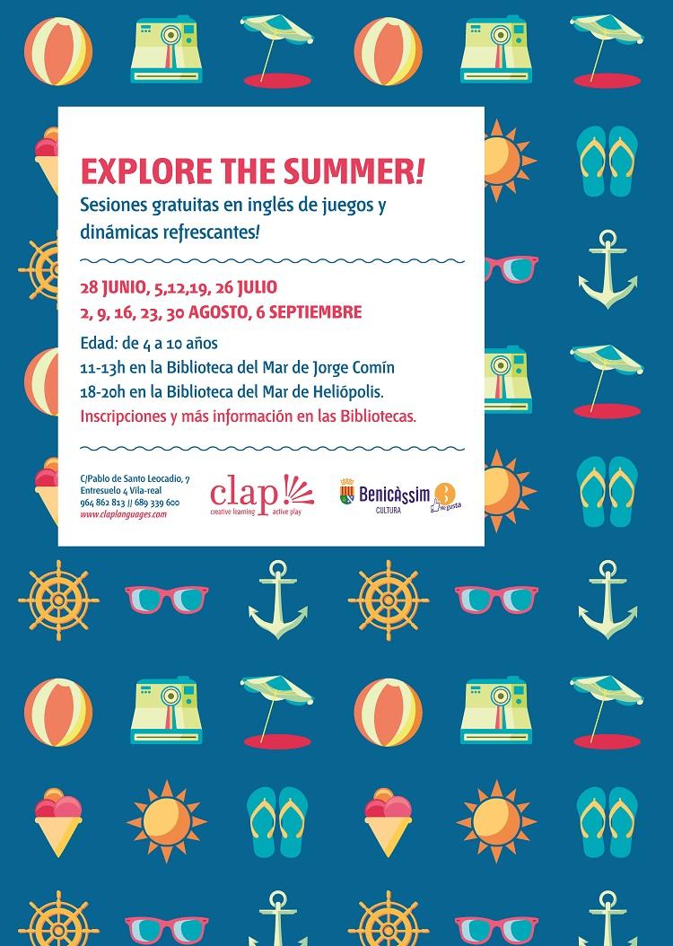 Cultura promueve entre los niños con Explore The Summer! el aprendizaje lúdico del inglés