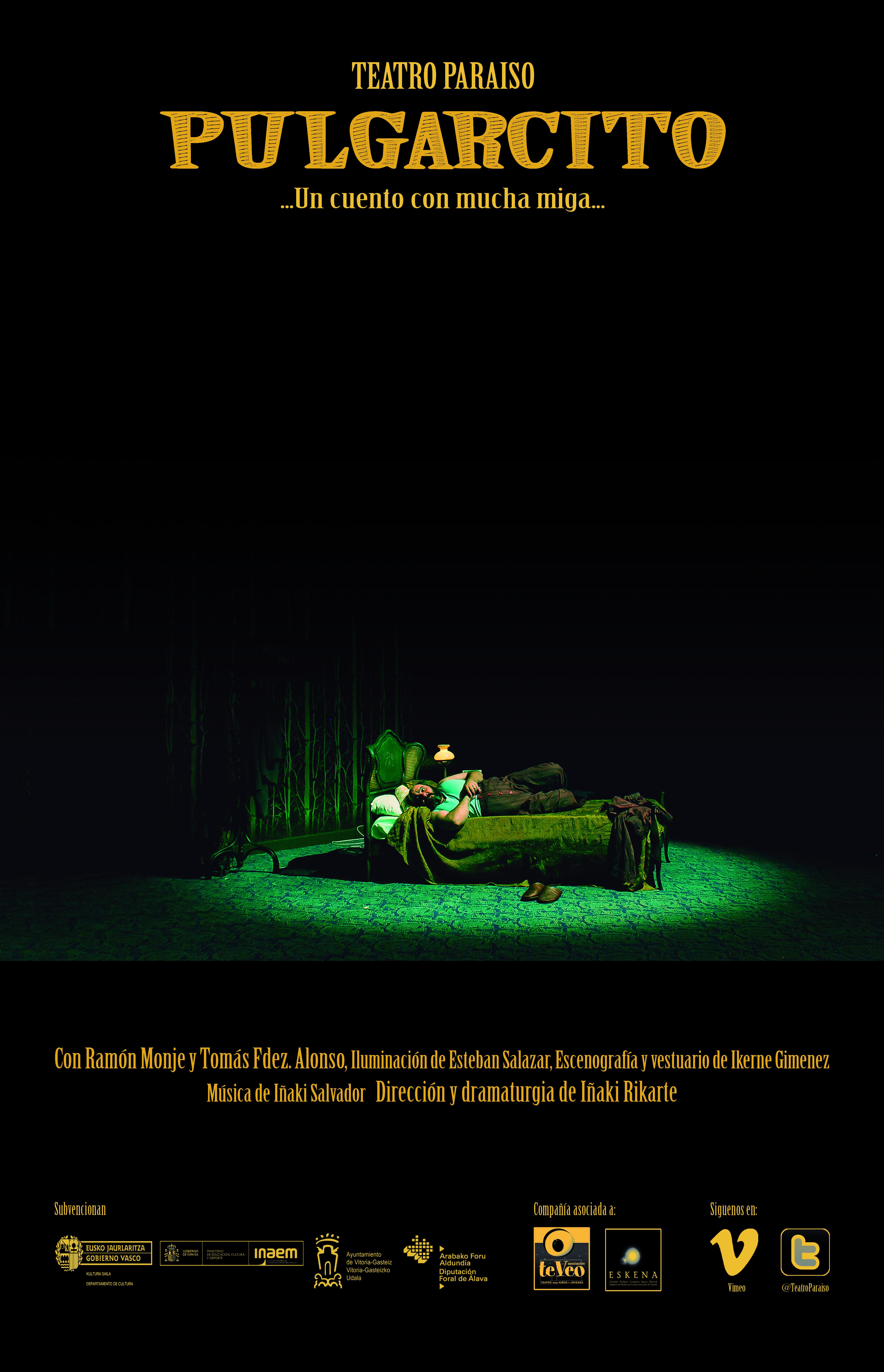 """Teatro Paraíso presenta """"Pulgarcito"""" en el Festival de Teatre i Biblioteca del Mar"""