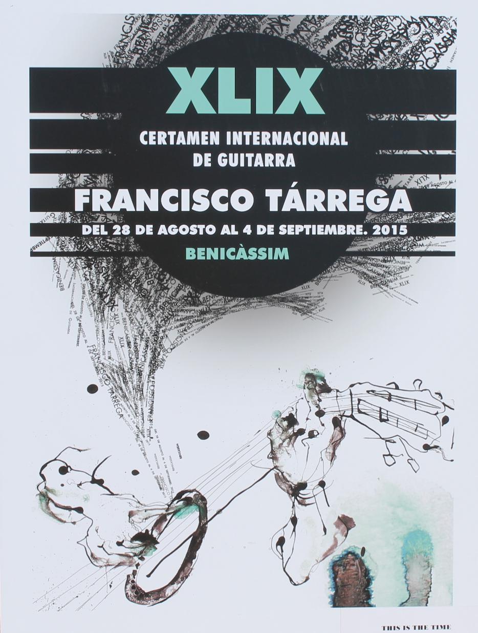 Santiago Piqueras gana el Concurso de Carteles de la XLIX edición del Tárrega