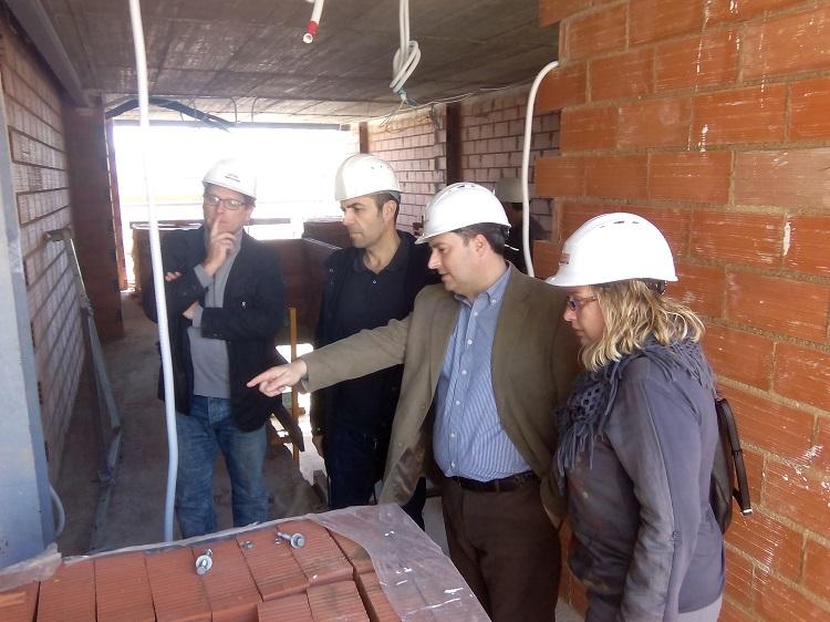 Continuan a buen ritmo las obras de reforma del Teatre Municipal