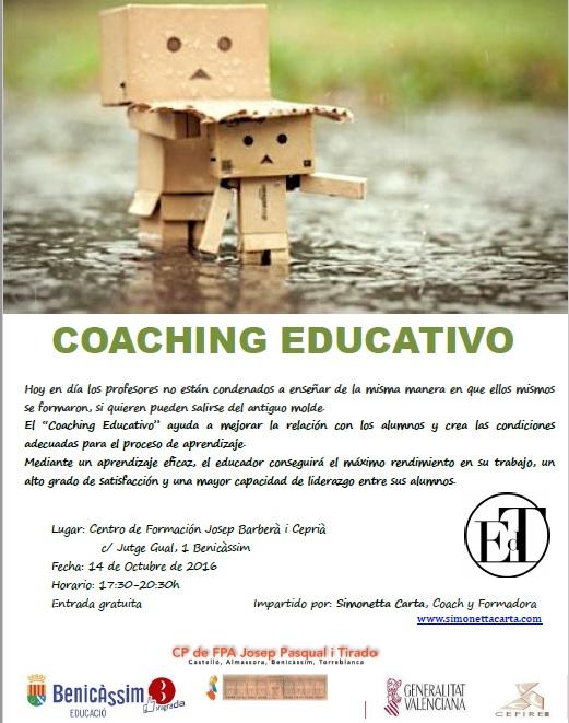 """TALLER """"COACHING EDUCATIVO"""""""