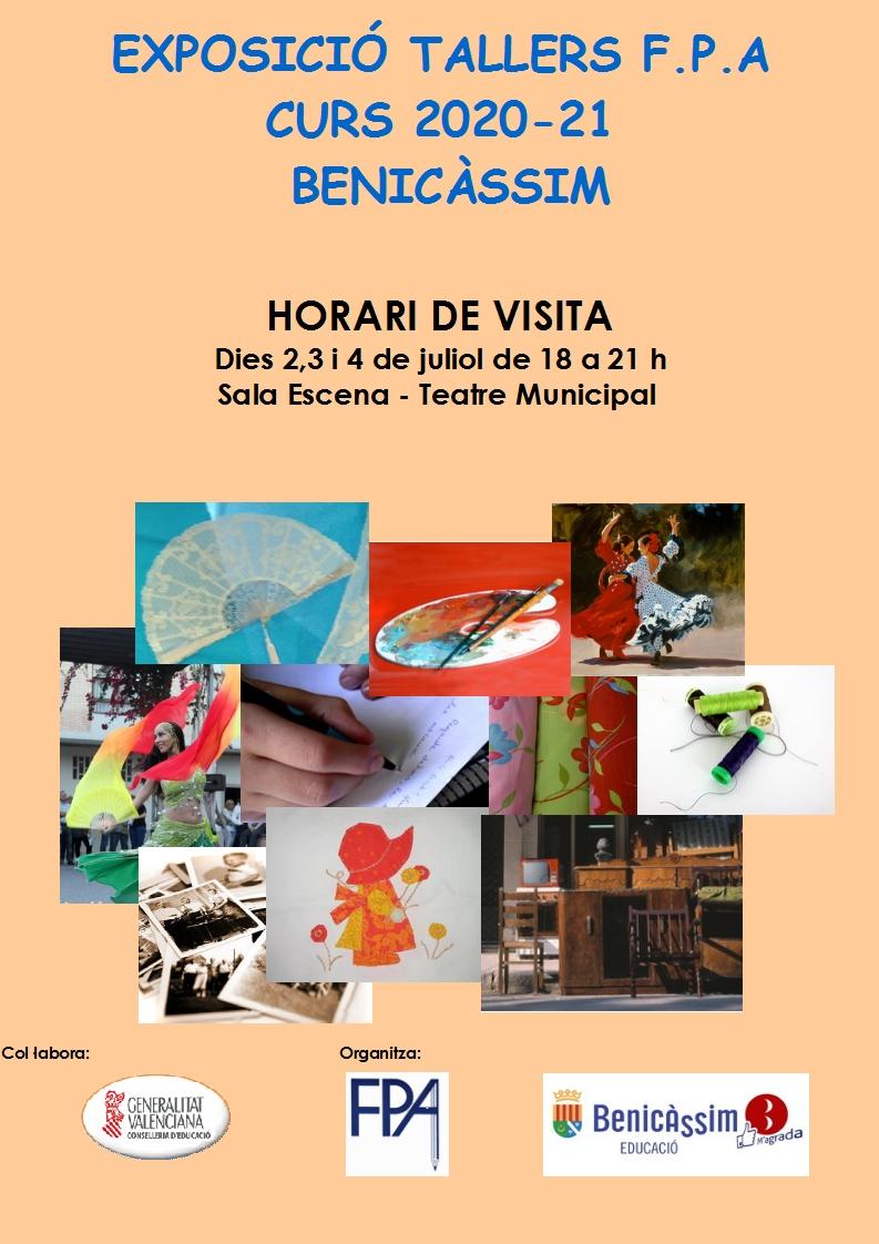Exposición talleres FPA curso 2020-21